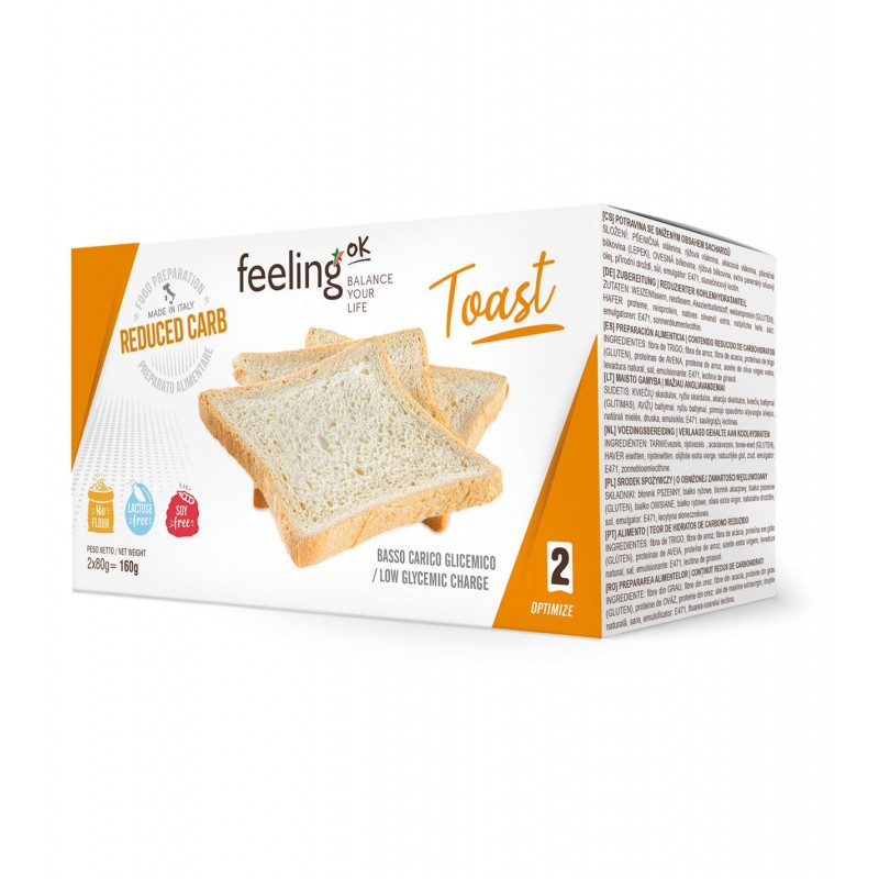 TOAST NATURALE OPTIMIZE 2X80G