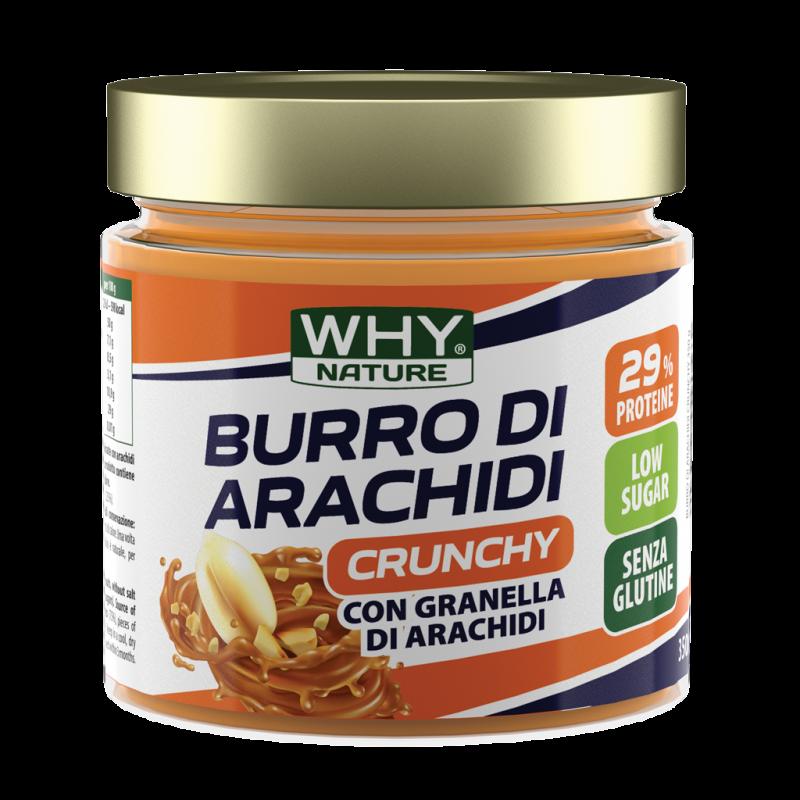 BURRO DI ARACHIDI CRUNCHY 350G