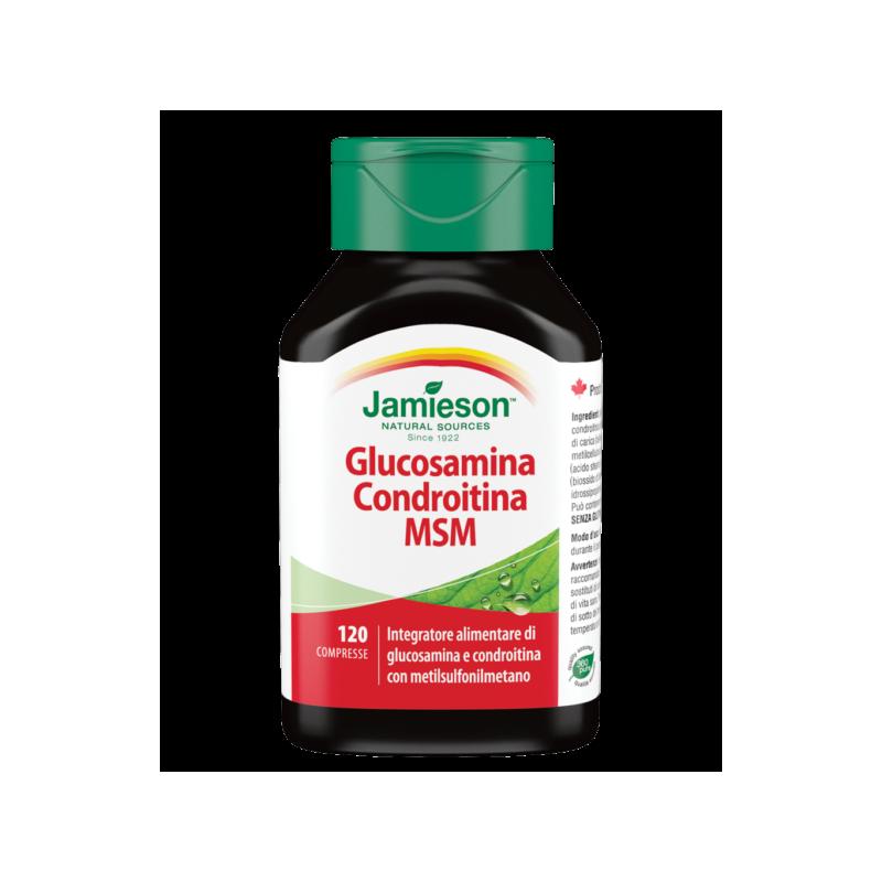 GLUCOSAMINA CONDROITINA MSM 120 CPR