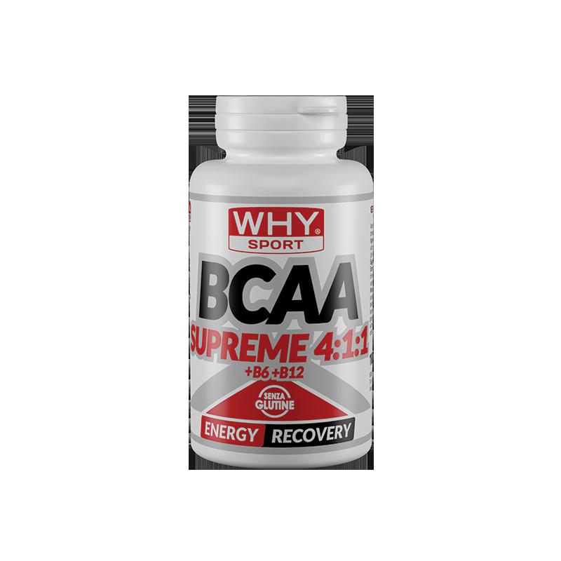 BCAA SUPREME 4:1:1 + B6 + B12   100cpr