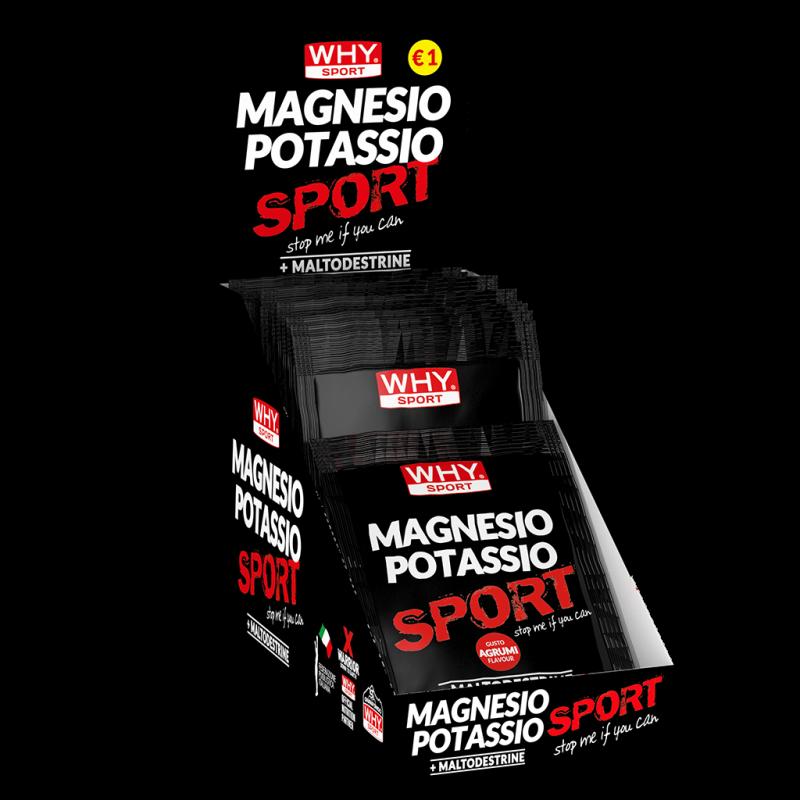 MAGNESIO POTASSIO SPORT MONODOSE
