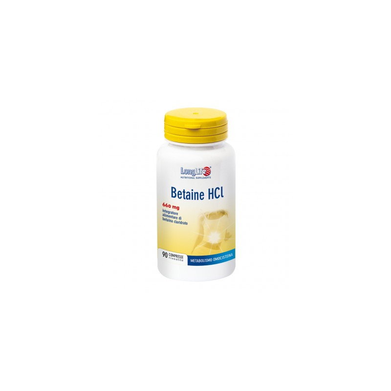 BETAINE HCI 660 MG 90CPR