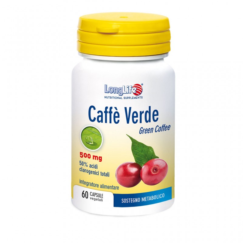 CAFFÈ VERDE 500 MG