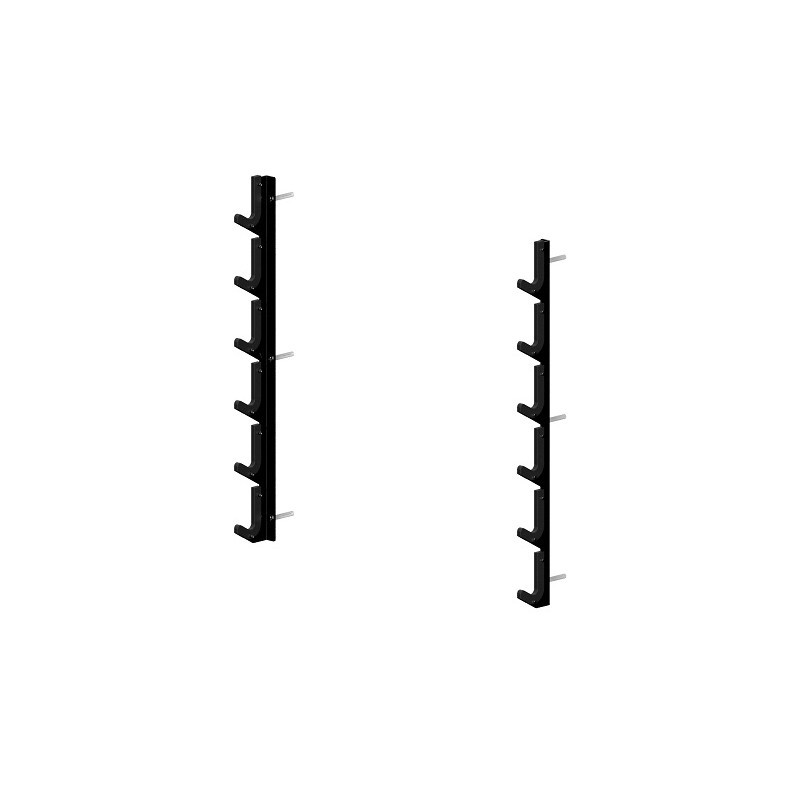 BARBELL WALL RACK 6 PLACES - Spart®