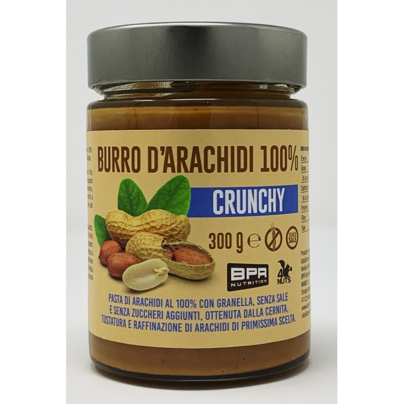 BURRO D'ARACHIDI 100% CRUNCHY 300g