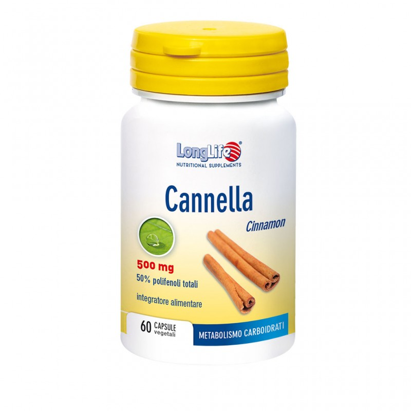 CANNELLA 500 MG 60CPS
