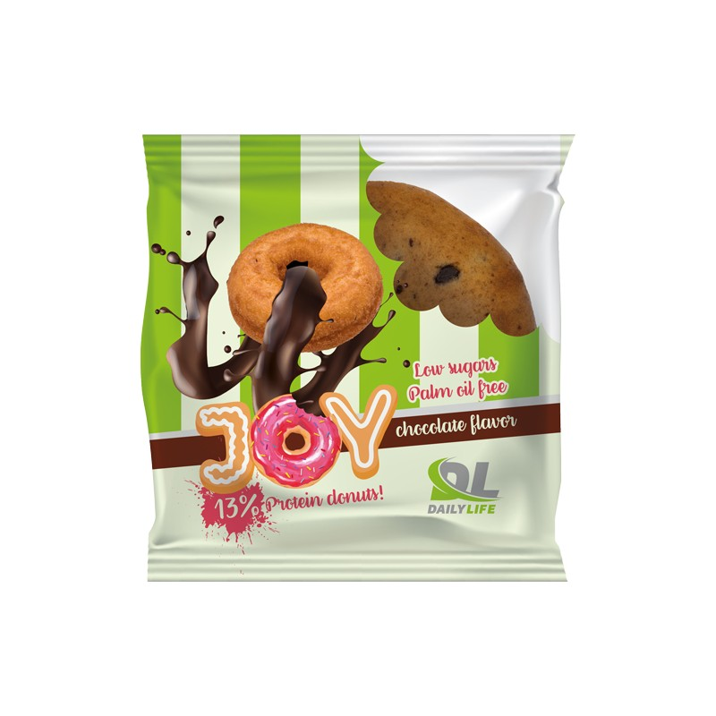 JOY DONUT PROTEICO CIOCCOLATE 60GR