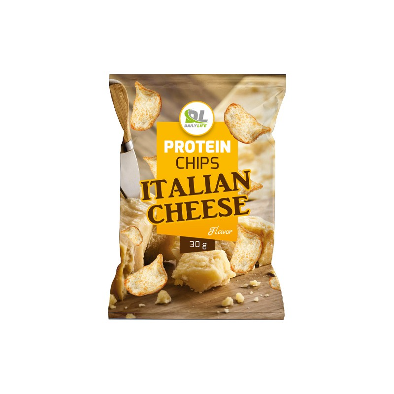 PROTEIN CHIPS ITALIAN CHEESE 30GR