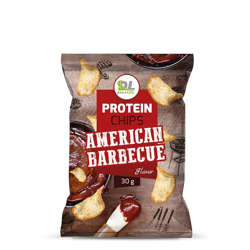 PROTEIN CHIPS AMERICAN BARBECUE 30GR