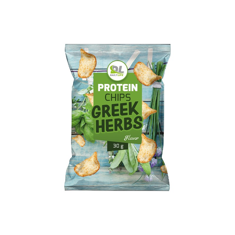 PROTEIN CHIPS GREEK HERBS 30GR
