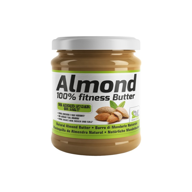 ALMOND 100% FITNESS BUTTER 250g