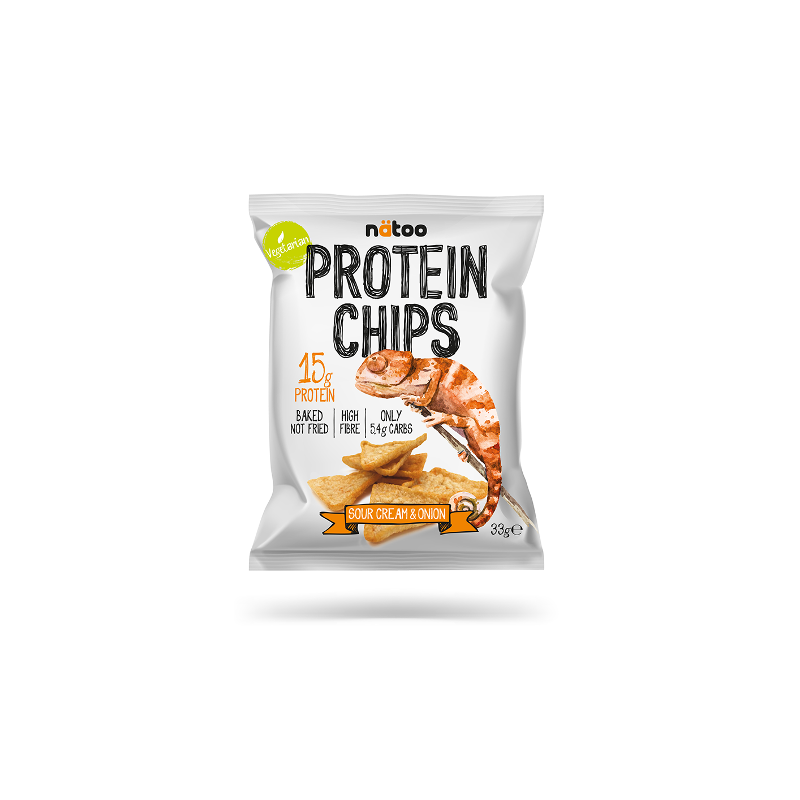 PROTEIN CHIPS SOUR CREAM...