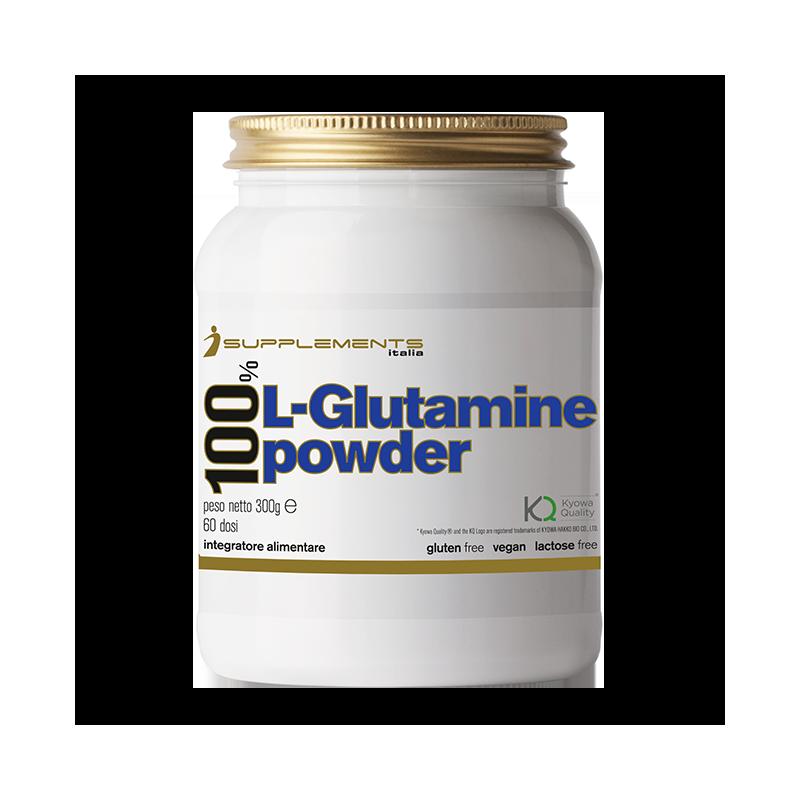 100% L-GLUTAMINE POWDER 300G