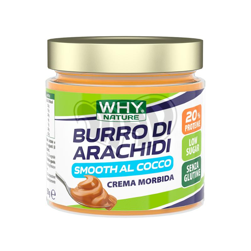 BURRO DI ARACHIDI SMOOTH 350g