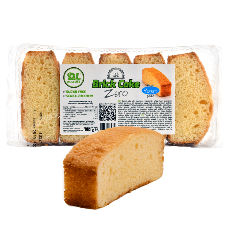 BRICK CAKE ZERO 190g